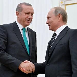 Президенты России и Турции обсудили ситуацию в Сирии