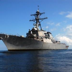 Америка вывела эсминец в Южно-Китайское море