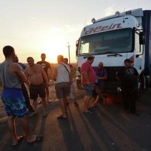 Украина прекратит грузовое сообщение с Крымом