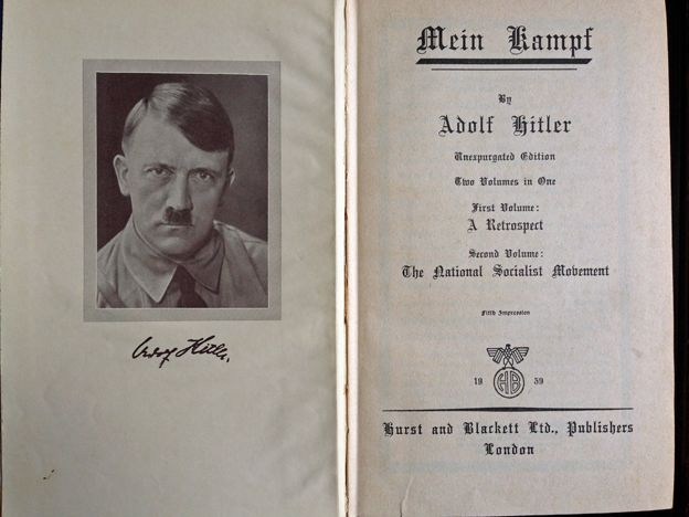 a literary analysis of mein kampf by adolf hitler Buy a cheap copy of mein kampf book by adolf hitler the angry ranting of an obscure, small-party politician, the first volume of mein kampf was virtually ignored when it was originally published hitler redefined military history, literary discourse, philosophy, academic discussions, and even theology.