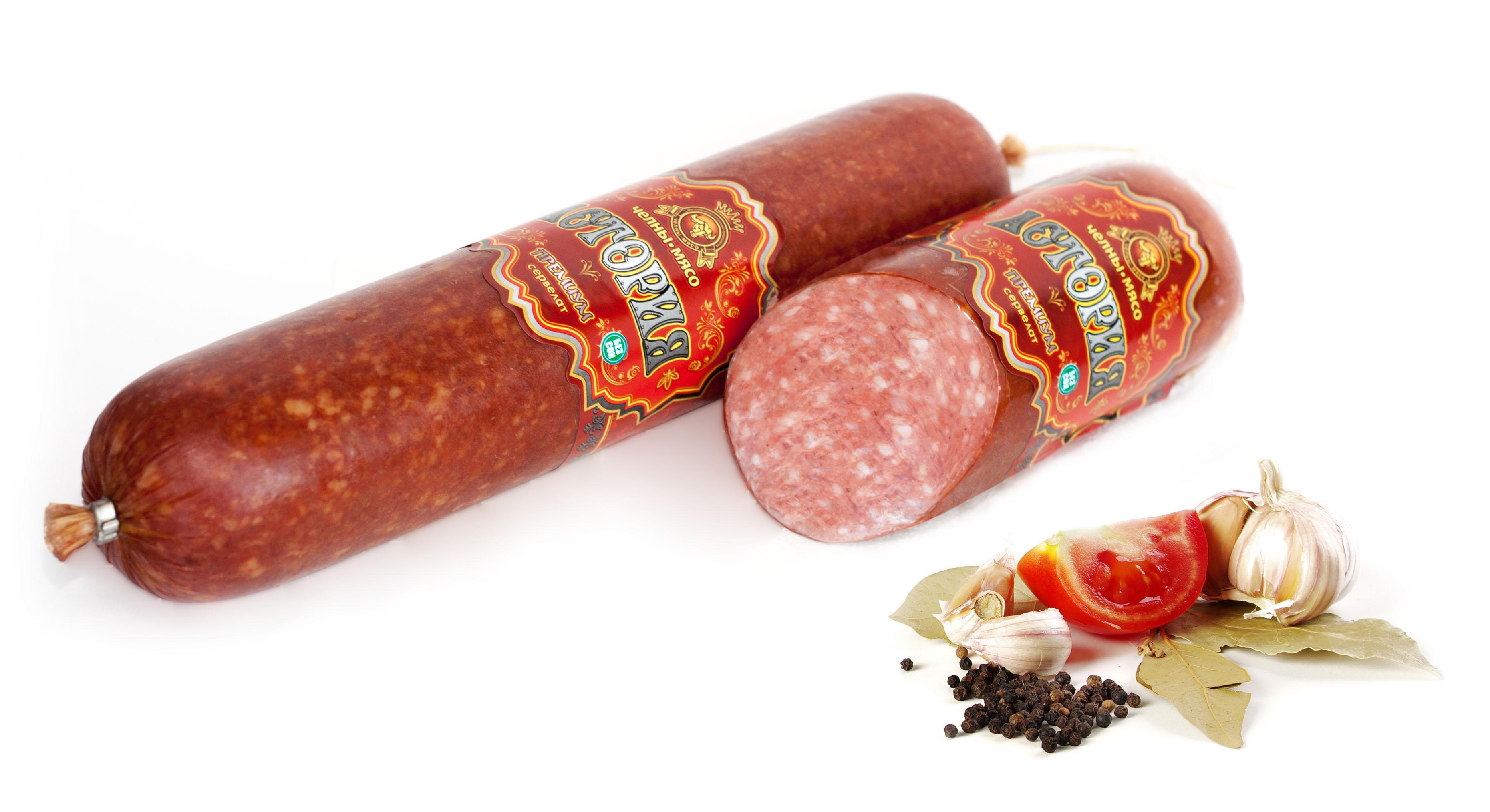 Колбасы, сосиски и другое обработанное мясо